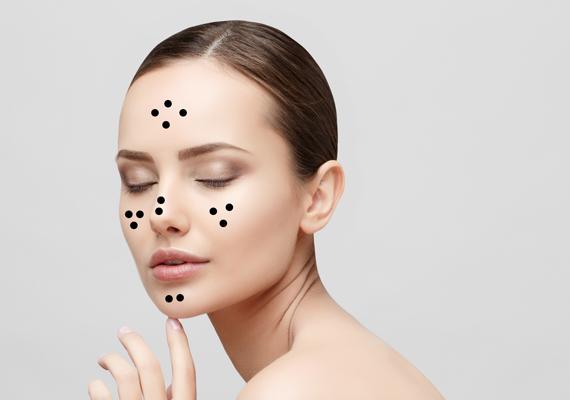 Álomfelismerés kiütés az arcon - Bőr -