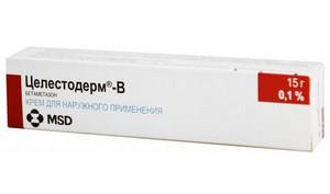 celestoderm-v kenőcs a pikkelysmr kezelsben