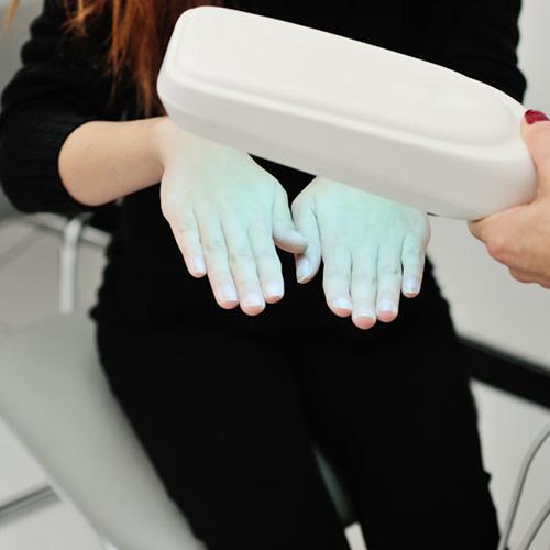 fésű pikkelysömör kezelésére ultraibolya fénnyel