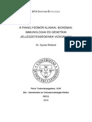 Ritka psoriasis formák. Rare forms of psoriasis